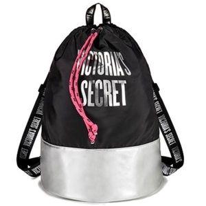 Victoria's Secret Logo Backpack Tote NWT